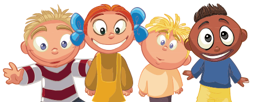 kid academy cartoon kids
